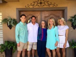Shanta and family